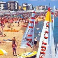 Riccione holidays on line Adria summer beach seaside travels Romagna hotels residence villas self-catering accommodations.